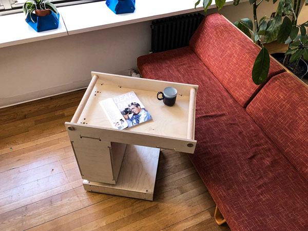an ongoing exploration of assistive robotic furniture